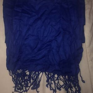 Accessories - Royal blue scarf